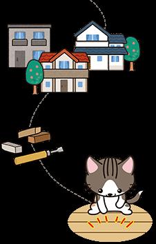 姫路市にある、建物・家具、住まいの補修すまいるアート